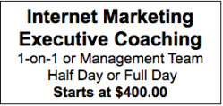Internet Marketing Executive Coaching