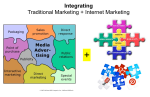 Integrated marketing Traditional Internet Marketing Jigsaw