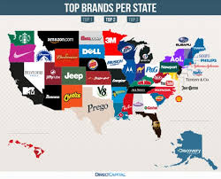 map brand by state